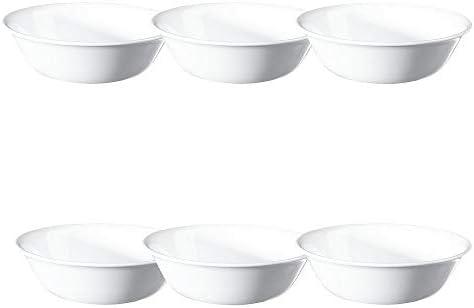 Corelle 6003905 Livingware Winter Frost White Soup Bowl 18 Oz Pack Of 6 Mixing Bowls Soup Bowls