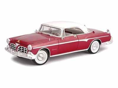 1955 Chrysler Imperial 1/18 Burgundy ()