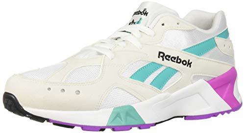 Reebok Unisex Adult's  AZTREK Shoes, True Grey/Timeless Teal/Aubergine/Black, 6.5 M US