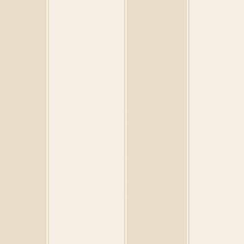 Norwall SD25718 Large Scale Stripe Wallpaper, Light Taupe (Large Scale Stripe Wallpaper)