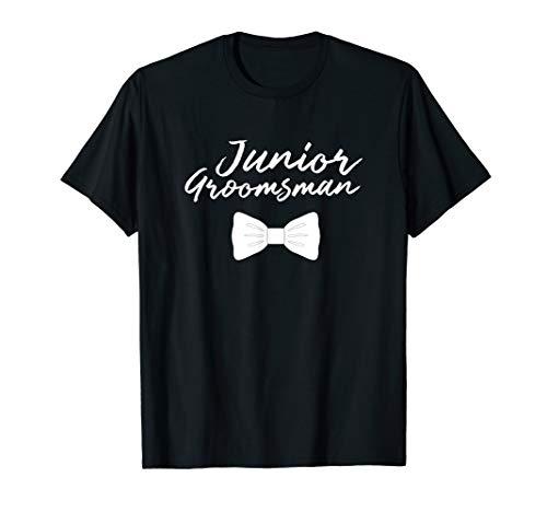 Junior Groomsman Wedding T Shirt For Boys