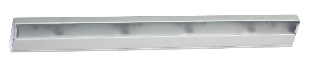 Four Light White Undercabinet Strip