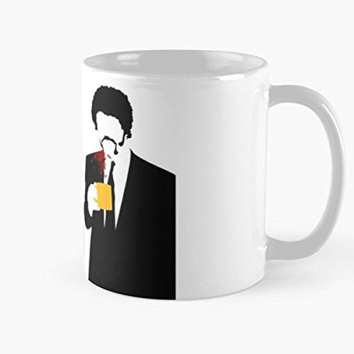 Pulp Fiction Quentin Tarantino John Travolta Samuel L Jackson Best Gift Mugs Mug Coffee For Gifts Cup Women Tumbler Cups 11 Best Personalized Gifts