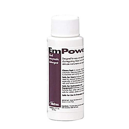 Metrex MET 10-4102 Empower Dual Enzymatic Detergent, 2 OZ (Pack of 48)