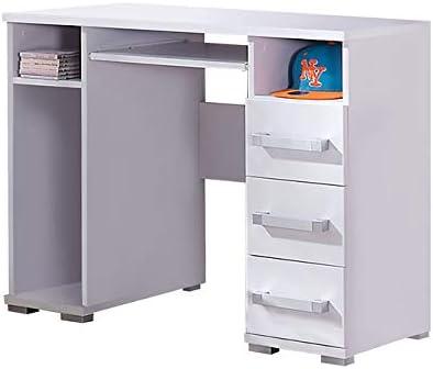 Blanc MEUBLO Standing Desk Bureau Computer Desk NURO N31