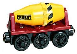 Learning Curve Cement Mixer Car - Thomas Wooden Railway Tank Engine Train Loose (Tank Wooden Car)