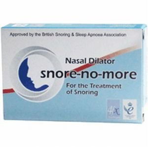 Snore-no-More Nasal Dilator by Health and Care