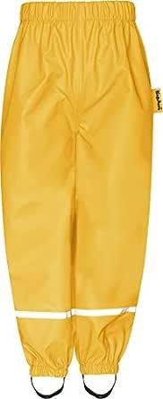 Playshoes Regnbyxor för barn, buddelbyxor för pojkar, vind och vattentät, byxor
