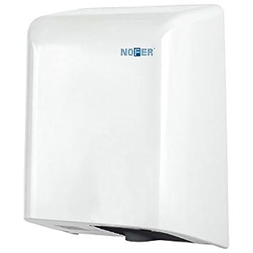 Nofer 01851.w Fuga secador de Manos con Sensor electrónico Acero Inoxidable Color Blanco 35 x 27 x 17 cm: Amazon.es: Hogar