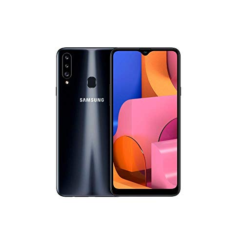 Samsung Galaxy A20s – Smartphone 6.5″ Infinitiy V HD+ (teléfono 3GB RAM, 32GB ROM), Negro [Versión española]