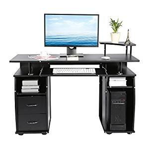 GOTOTOP Escritorio Informática Ordenador Mesa pc Mueble Mesa de ...