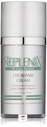 Replenix All-trans-Retinol Eye Repair Cream with Retinol, Vitamin K and Antioxidants, 0.5 Oz