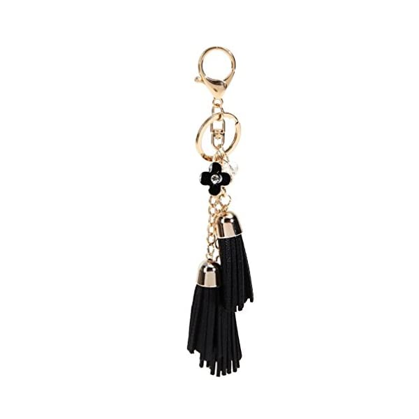 Shensee Tassel Keychain Bag Handbag Key Ring Car Key Pendant