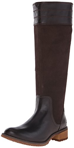 Timberland Women's Bethel Heights All Fit Tall Boot, Dark Br