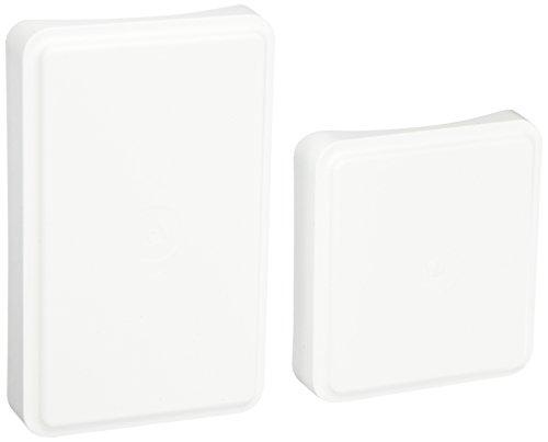- YardSmart 73018116 Paintable Round Column Adaptor Vinyl Railing (1 Pair), White