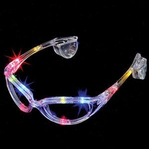 Colored LED Sunglasses -- 10 pairs