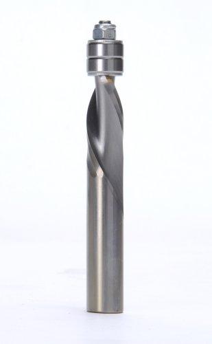 (MLCS 7389 1/2-Inch Shank Solid Carbide Downcut Flush Trim Router Bit)