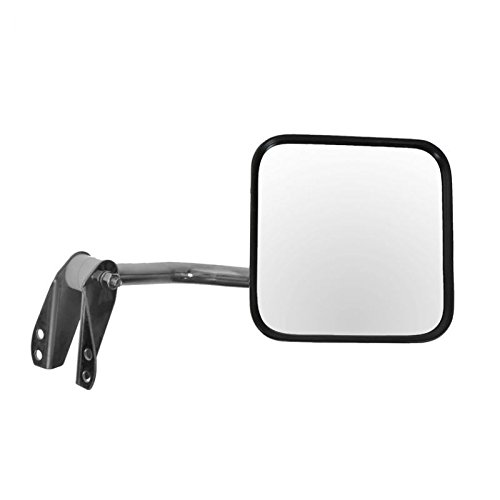 Manual Side Mirrors Pair Set Left /& Right LH RH for 53-86 Jeep CJ DJ AM Autoparts