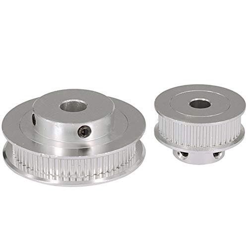 Size: 40T 8MM GT2 Timing Pulleys 30 36 40 60 Tooth 2GT Wheel Parts Bore 5mm 8mm Aluminium Gear Teeth Width 6mm 10mm 3D Printers Part 3D Printer