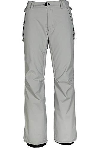 686 Women's Standard Waterproof Shell Ski/Snowboard Pant | Light Grey - S (Best Budget All Mountain Snowboard)