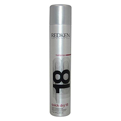 Quick Dry 18 Finishing Spray by Redken for Unisex - 11 oz Spray.