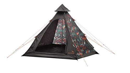 Easy Camp 4-Person Carnival Tipi Tent, Light/Dark Blue, 5709388080189