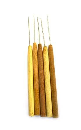Aguja de disección recta, mango de madera dura, paquete de 5 - Eisco Labs: Amazon.es: Industria, empresas y ciencia