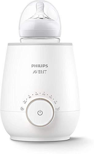 Philips Avent Flessenwarmer -Verwarmt In 3 Minuten – Geleidelijke Ontdooiing – Houdt De Melk Warm – Eenvoudig Te…