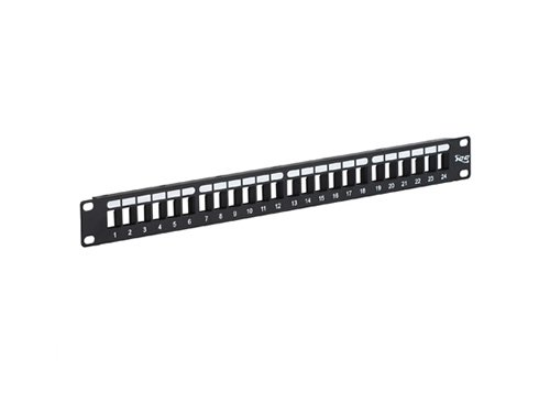 ICC ICC-IC107BP241 PATCH PANEL, BLANK, HD, 24-PORT, 1 RMS