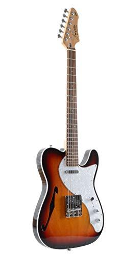 Firefly FFTH Semi-Hollow body Guitar(Sunburst color)