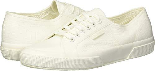 Superga Women's 2750 COTU Sneaker, White Ecru, 36 M EU