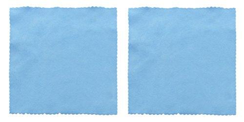 2 Simplee Cleen Microfiber Optical Cloths