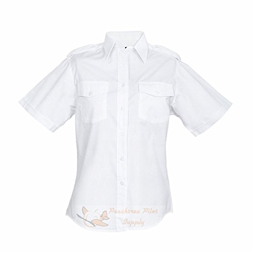 Aero Phoenix - Lady Elite Pilot Uniform Shirt Women's Short Sleeve - 2 - Oxford Pilot Shirts