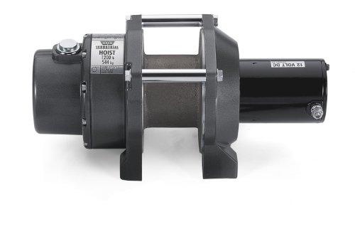 Warn 64254 DC1200 CF Industrial DC Hoist 1200 lbs./727 kg 12V DC Motor Hoist Only Clockwise DC1200 CF Industrial DC Hoist
