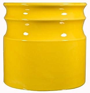 Home Essentials & Beyond 66381 7.5 D in. Turino Rings Utensil Crock - Yellow (B00WIUCARG)   Amazon price tracker / tracking, Amazon price history charts, Amazon price watches, Amazon price drop alerts