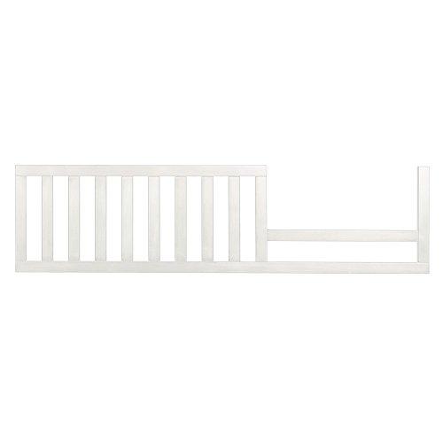 Evolur  Convertible Crib Toddler Guard Rail in White,7 Pound - Convertible Crib Guard Rail