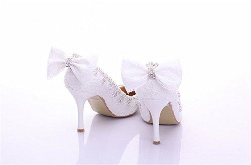 Sandalias White 9cm Mujer Con Miyoopark Cuña Heel COndaxq