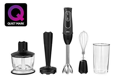 Braun MQ537 Multiquick Hand Blender, Black