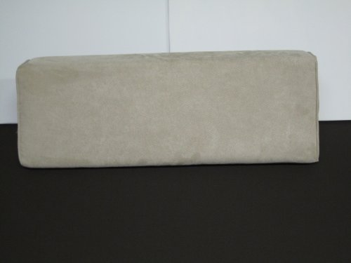 Twill Bolster - flexible Wedge Bolster with Cover (Legacy Twill- Natural.)