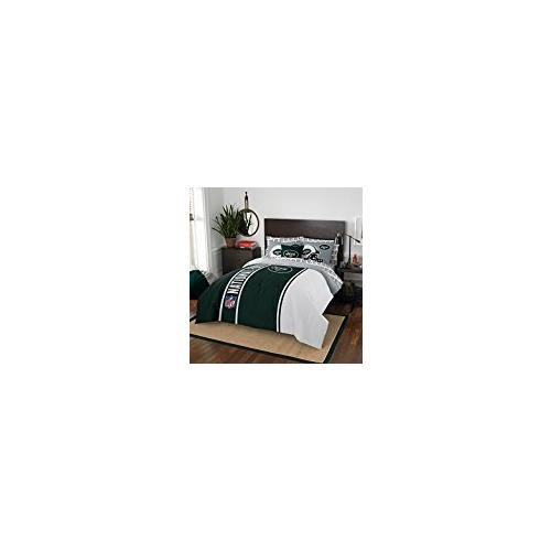 NFL New York Jets Soft & Cozy 7-Piece Full Size Bed in a Bag Set by Northwest (Image #2)