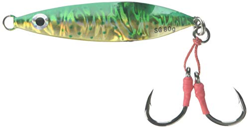 Savage Gear 5/0 Deep Drop Erratic Fall Jig Hook, Dorado, 3.75