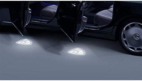 Mercedes Benz Led Projektor Maybach Logo 2 Teilig Auto