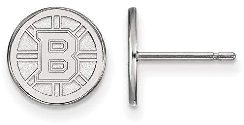 - Sterling Silver NHL Boston Bruins X-Small Post Earrings by LogoArt