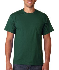 Gildan Adult Ultra Cotton T-Shirt with Pocket (G2300) SMALL
