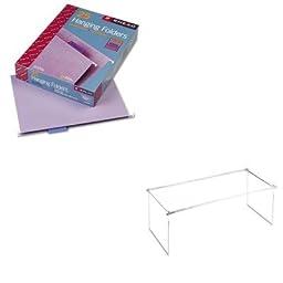 KITSMD64064UNV17000 - Value Kit - Smead Hanging File Folders (SMD64064) and Universal Screw-Together Hanging Folder Frame (UNV17000)