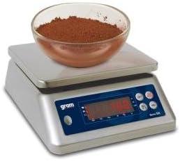 Balanza impermeable para oficios de alimentos, 30 kg/2 g