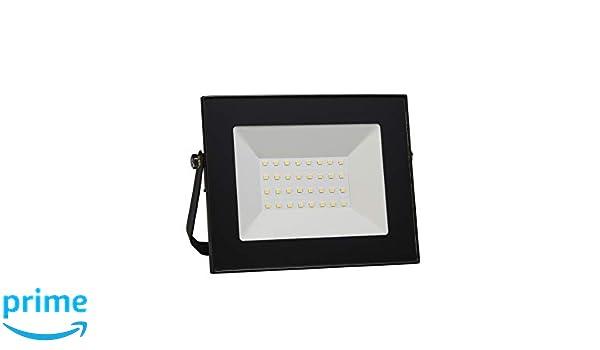 ECOBELLE 1 x Foco Proyector LED 20W Impermeable IP65, 1700 Lúmenes ...