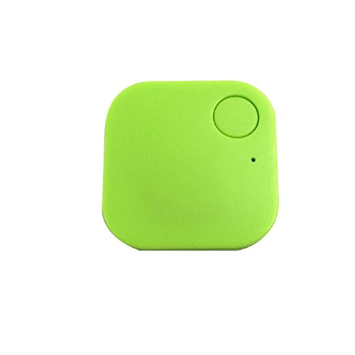 Smart Bluetooth Tracer Pet Child Wallet Key GPS Locator Tag Alarm(Green) - 1