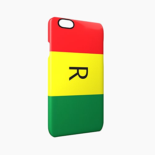 Old Flag of Rwanda Glossy Hard Snap-On Protective iPhone 6 / 6S Case Cover