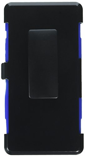 Asmyna Cell Phone Case for Sony Ericsson Xperia Z5 - Retail Packaging - Black/Blue